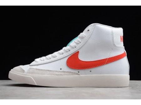 Nike Blazer Mid Vintage '77 Habanero Rot/Segelweiß BQ6806-400 Herren Damen