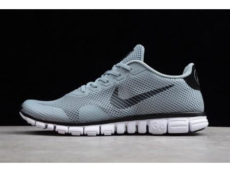 Nike Free Rn 3.0 V2 Hellgrau/Schwarz 806568-005 Herren