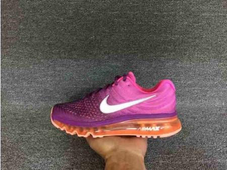 Nike Air Max 2017 Lila/Rosa/Orange für Damen-20