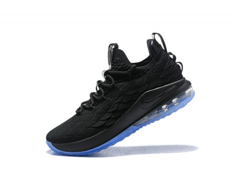 Nike LeBron 15 Low Noir Ice Chaussures de Basketball Hommes-31