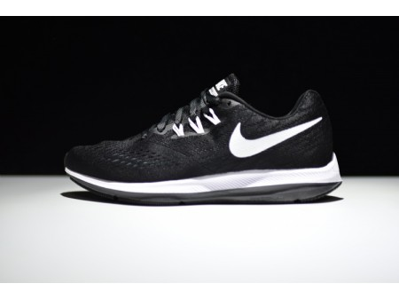 Nike Zoom Winflo 4 Noir/Blanc Anthracite 898466-001 Homme-20