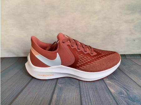 WMNS Nike Zoom Winflo 6 Light Rougewood/Blanche Chaussures AQ8228-800 Femmes-20