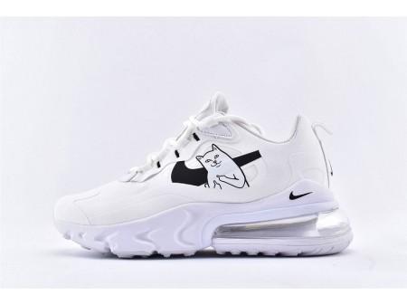 Nike Air Max 270 React x RipNDip Lord Nermal Blanche AQ9087-101 Femme-20