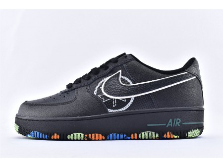 """Nike Air Force 1 Low """"NYC Parks"""" Noir CT1518-001 Homme-20"""