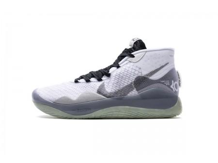 Nike Zoom KD12 TB Blanc/Noir Team Pack CN9518-100 Homme-20