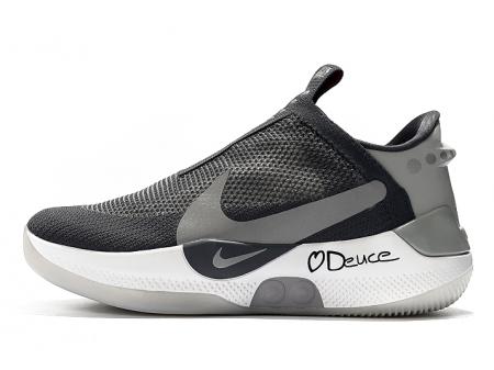 Jayson Tatum x Nike Adapt BB Noir/Gris-Blanc Homme