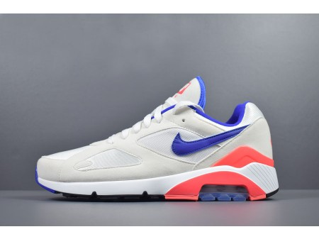 Nike Air Max 180 OG Ultramarine Blanc/Ultramarine-Solar Rouge 615287-100 Hommes Femmes-20