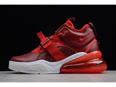 Nike Air Force 270 Rouge Croc Team Rouge/Gym Rouge/Blanche AH6772-600 Homme-20