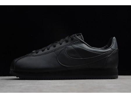 Nike Classic Cortez Leather Noir/Noir-Anthracite 749571-002 Homme-20
