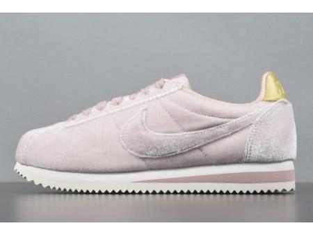 Nike Classic Cortez 'Velvet' Rose/Métallique dorées Chaussures AJ8646-600 Femme