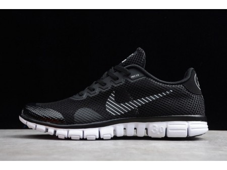 Nike Free Rn 3.0 V2 Noir Blanc 806568-001 Homme Femme-20
