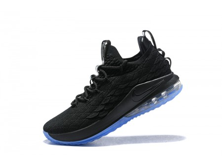 Nike LeBron 15 Low 'Noir Ice' Chaussures de Basketball Hommes