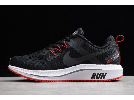 Nike Zoom Structure + 15 Noir/Rouge 615588-005 Homme-20