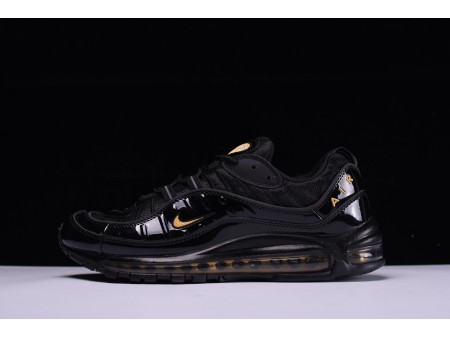 Nike Air Max 98 Noir Jaune 640744-080 pour Homme-20
