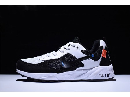 Off White x Nike Air Icarus Extra QS Trainers Noir/Blanc 819860-300 Hommes Femmes-20