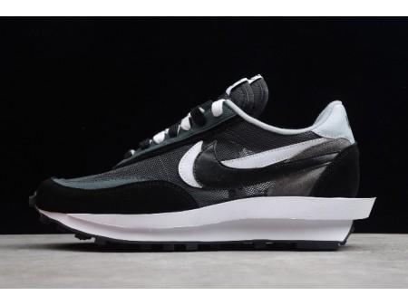sacai x Nike LDV Waffle Noir Blanc BV0073-001 Homme Femme-20
