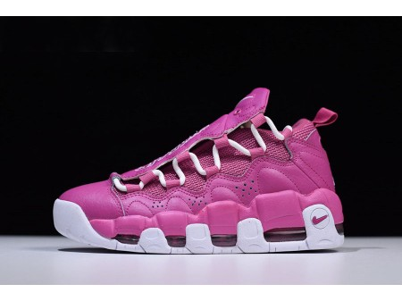 Sneaker Room x Nike Air More Money QS Breast Cancer Awareness Think Rose/Blanche AJ7383-600 Hommes Femmes-20
