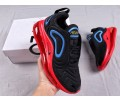 """Nike Air Max 720 """"Punch"""" Noir Rouge AO2924-014 Homme Femme"""