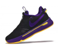 Nike PG 4 Noir/Violette-Jaune Homme