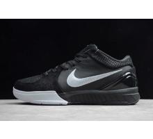 Nike Zoom Kobe 4 Protro Black Silver AV6339-010 Men