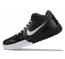 Nike Kobe 4 Protro Black White Shoes Men