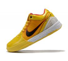 Nike Zoom Kobe 4 Protro 'Bruce Lee' Tour Yellow/Black-White Men