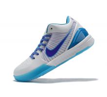 Nike Zoom Kobe 4 Protro 'Draft Day' White/Orion Blue-Varsity Purple AV6339-100 Men