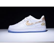 Nike Air Force 1 Low Premium Lunar Neujahrs-ID Weiß 919729-992 für Herren und Damen