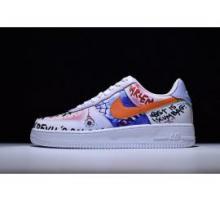 Pauly x Vlone Pop Nike Air Force 1 Graffiti 923066-100 für Herren und Damen